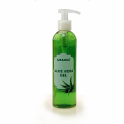 Aloe Vera Gel with pump dispenser - Natural skin treatment after sun, hair removal, shaving etc