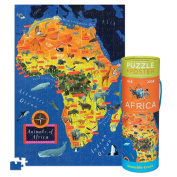 Croc Creek Puzzle + Poster Africa 200pc