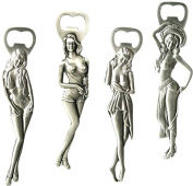Assorted Design Metal Bottle Opener Sexy Girl Gift Present Beer Bar Drink Female Party Tool Claw Gadget Kitchen Student