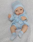 """40cm Full Silicone Preemie Reborn Baby Dolls Soft All Vinyl 16"""" Real Lifelike Newborn Doll Toy Xmas"""