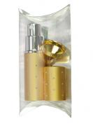Fantasia 46053 Pocket Sprayer Gift Set for 10 ml, Gold, and Funnel, Gold