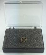 Masonic Knights Templar Small Gold Plated Enamel Lapel Pin Badge In Gift Box