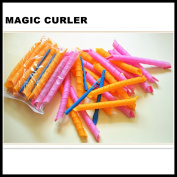 Magic plastic hair curler rollers styling tools