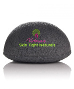 Victoria's Best All Natural Konjac Facial Sponge Gentle Organic Exfoliating Includes FREE $99 Acne Skin Care Guide E-book