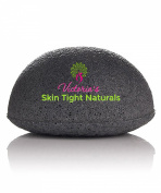 Victoria's Best All Natural Konjac Facial Sponge Gentle Organic Exfoliating Includes FREE $99 Acne Skin Care Guide E-book