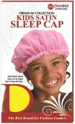 Donna's Premium Soft Elastic Kids Satin Sleep Cap