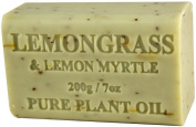 Lemongrass & Lemon Myrtle Soap 200g 210ml