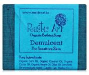 Rustic Art Organic Demulcent Soap 100 Grammes White