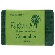Rustic Art Organic Cucumber Soap 100 Grammes