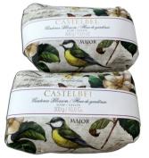 Castelbel Gardenia Blossom 300gram Bath Soap Bar - 2 Bars