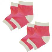 Bodiance Gel Heel Socks for Moisturising Repair & Healing of Cracked, Dry, Rough Skin on Feet