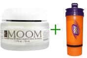 Best Moom, Rewind Time Wrinkle Cream, 1.7 fl oz (50 ml), Now Foods, 3 in 1 Sports Shaker Bottle, 25 oz BUNDLE