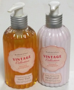 Vintage Collection Mimosa & Pomegranate Hand Wash and Lotion