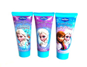 Frozen Frosted Berry Shower Set Conditioning Shampoo, Body Wash, Body Lotion and Frozen Elsa Puzzle