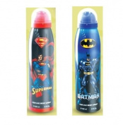BATMAN AND SUPERMAN 150ml PERFUME BODY SPRAY 2 BODY SPRAY