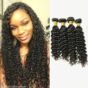Sina Beauty 4 Bundles Hair Extention 30cm With 41cm Lace Closure Peruvian Virgin Hair Deep Wave Lace Closure With Bundles Human Hair Extension Fastshipping