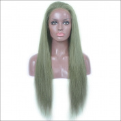 Grade 7A Brazilian Human Hair Silky Straight Glueless Full Lace Wig For Black Women Long Human Hair Lace Front Wig 150 Density