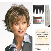 Bundle - 5 items: Boost by Raquel Welch Wig, Christy's Wigs Q & A Booklet, Wig Shampoo, Wig Cap & Wide Tooth Comb (Colour Selected