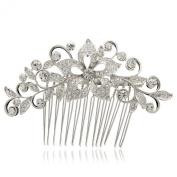 Smile Bridal f Hair JewelryClear Rhinestoneystal Hairpins Women Hair b R