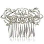 Smile Bridal Hairpins Clearystals Rhinestone Hair b WomenHair JewelryR