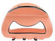 Smile Quality Hollow Shape Acrylic Hair Clip 8.8cm /5cm Long