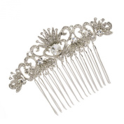 Smile Rhinestoneystals Hairpins Women Hair b Bridal Hair Jewellery R