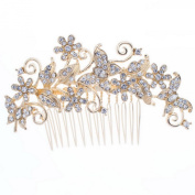 Smile Vintage Flower Hair bs Pearl Hairpins for Women or BridalHead Jewelrywith Austrianystals FA
