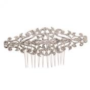 Smile Silver Rhinestoneystal Palace Style Hair b Headband WomenBridal Hair Jewellery