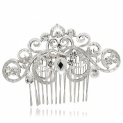 Smile Vintage Rhinestoneystal Hairpins Women Hair b for BridalHair JewelryR