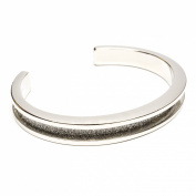 signature by Maria Shireen™ - Hair Tie Bracelet - Steel Silver