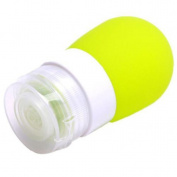 2PCS 80ML Travel Bottles Portable Soft Silicone Travel Bottles Squeezable Refillable Travel Containers for Shampo