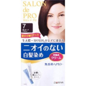 Salon De professional fragrance-free hair colour fast dyed cream (for grey hair) 7 deep dark brown_ 1 agent