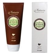 AS style natural gardenia hair dye Nachuria platinum hair colour Premier Black 200g with gloves, ear cap