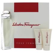 Salvatore Ferragamo Set for Women, 3.4 Fluid Ounce