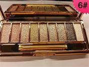 ShineMore 9 Colours Diamond Bright Colourful Eye Shadow Eyeshadow Super Flash Glitter Eyeshadow