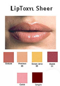 LipToxyl Sheer Tinted Lip Plumping Gloss in 6 shades