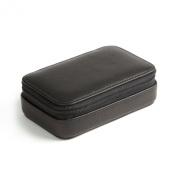 Small Zip Case - Full Grain Leather - Black Onyx