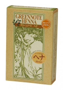 Green note henna Orange Brown