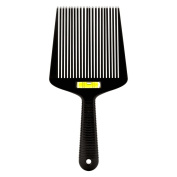 Barber Wide Flat-Top Hair Comb with Spirit Level
