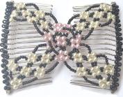 Casualfashion Women's Hair Combs, Multi-functional Magic Hand-beaded Comb Clips Insert Hair