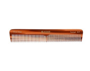 Kent The Handmade Comb - 175 mm Coarse and Fine Toothed Comb Sawcut 5T