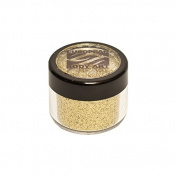 Powder Glitter Makeup Body Shimmer, Metallic Yellow