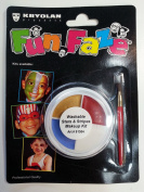 Kryolan Washable Face Paint Stars and Stripes Makeup Kit