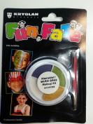 Kryolan Washable Face Paint Mardi Gras Kit