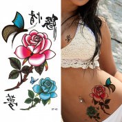 Supperb® Temporary Tattoos - Rose in Deam