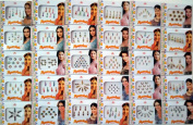 26 Different Packets of India Traditional Bindi Tika Tattoo.