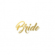Bride - Original Fashiontats Metallic Jewellery Temporary Tattoos