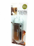 2 packs of Baby Bright 3D Natural Eyebrow Kit.