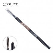 Cosluxe Cosmetics Waterproof Eyebrow Pencil with Brush #03 Caramel
