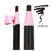 3PCS Black Quality Waterproof Long-lasting Eyebrow Pencil Eyebrow Enhancers Defining Powder Beauty Eyebrow Eyeliner Eyes Makeup Tools Cosmetic Accessories for Women Men